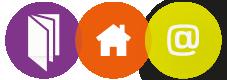 Site internet, e-mailing, plaquettes, flyers, PLV… Création/Gestion de contenu sur tous types de supports